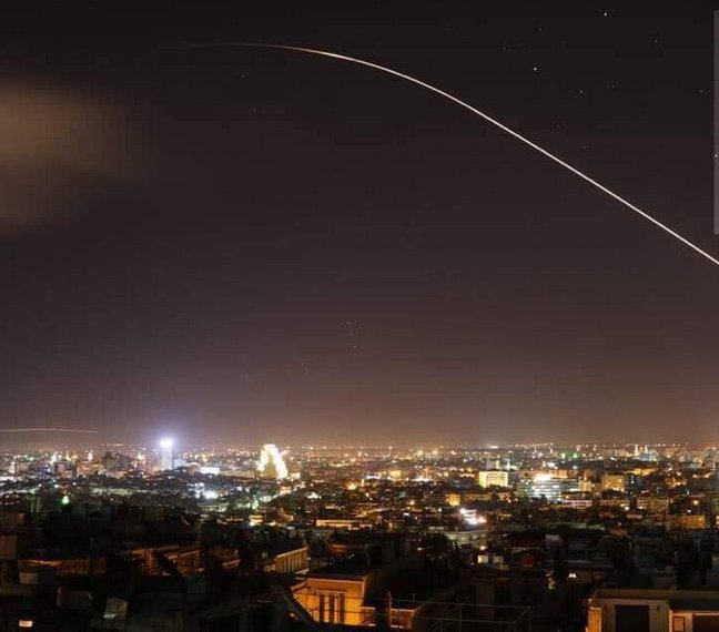 Reuters: Syria says Israeli fired missiles toward Damascus, hit airport warehouse