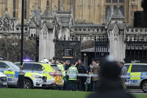 Terrorist attacks carried out near British parliament. March 22, 2017