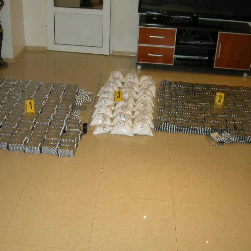 90 kg of pseudoephedrine seized in special operation of Bulgarian police