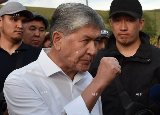 TASS: Kyrgyz ex-president charged with special forces soldier's murder