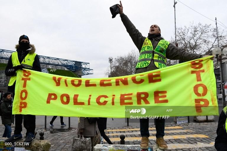 AFP: France's 'yellow vests' mobilise for fresh round of protests