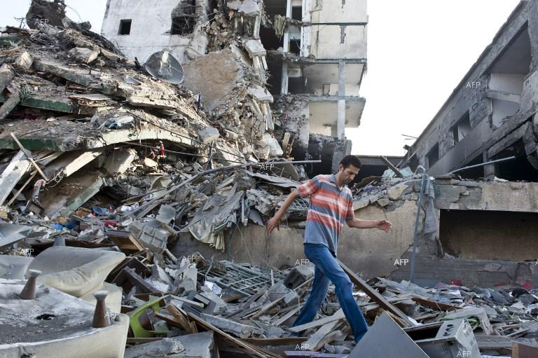 Tens of Palestinians injured in Israeli airstrikes on multi-storey residential buildings.