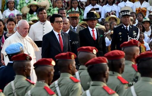 Pope Francis in Madagascar. September 6, 2019