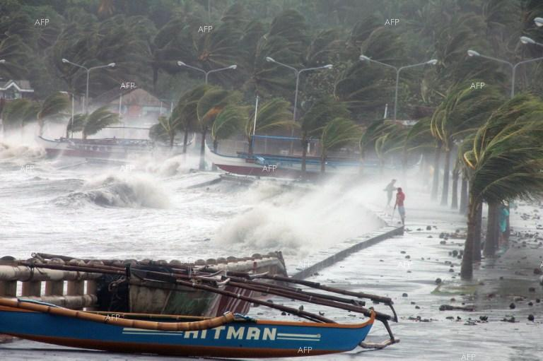 AFP: Typhoon Mangkhut makes landfall in Philippines: forecaster
