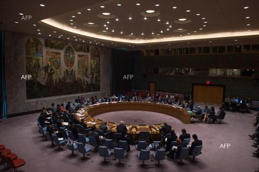 UN Security Council holds an extraordinary sitting over Syria. September 25, 2016.