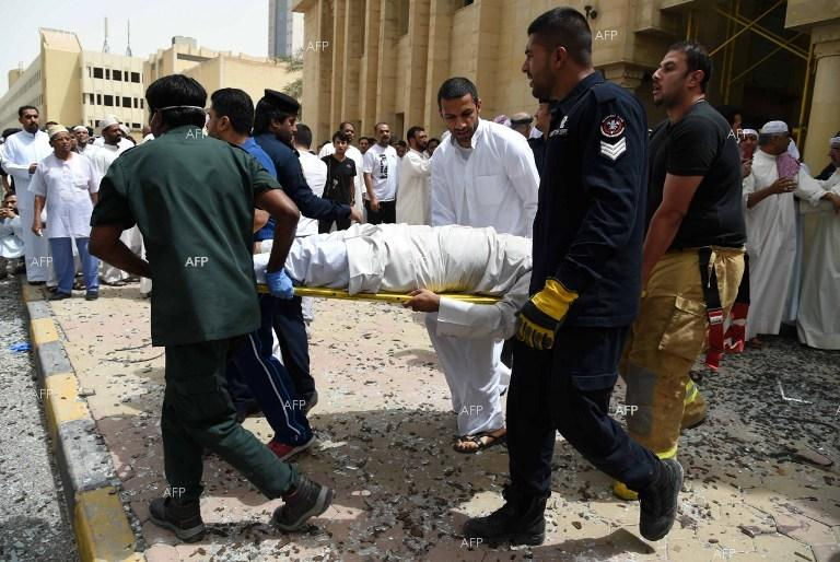 Islamic suicide bomber killed 27, injured 227, after blowing himself up in a Shiite mosque in Kuwait.