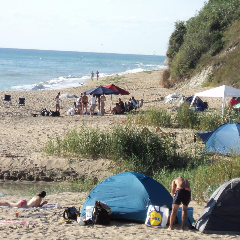 More than 20 illegal camping sites along Bulgaria's Black Sea coast