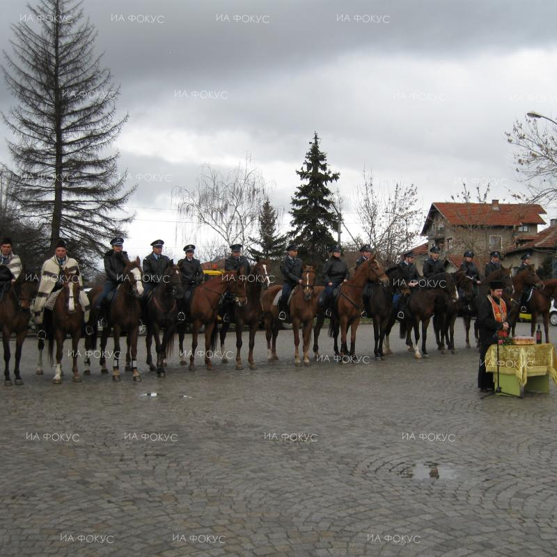 Mounted Police with the Sofia Police Directorate marks the holiday of the horse – Todorovden