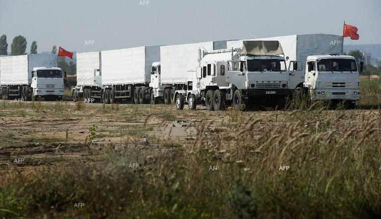 Kiev accuses Russia of 'direct invasion' over aid convoy