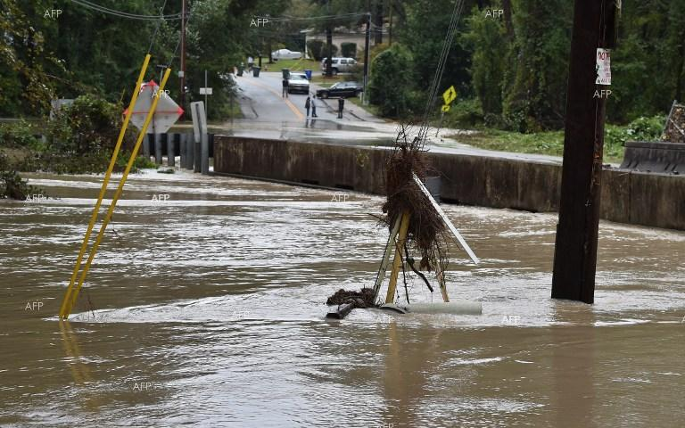At least 11 people died in floods in South Carolina