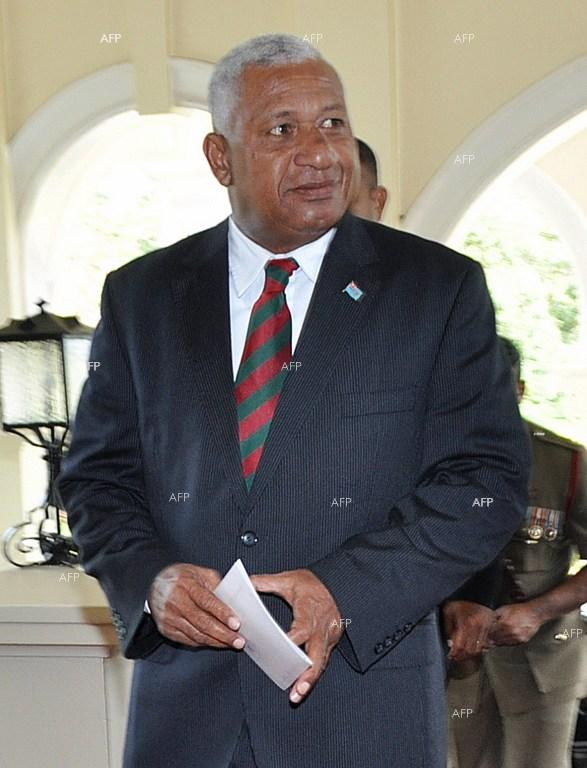 Bainimarama sworn in as Fiji PM.