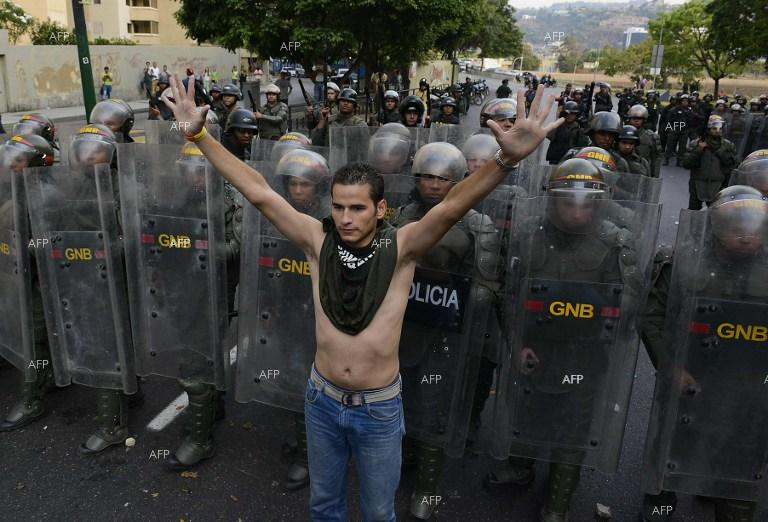 AFP: Man fatally shot during protest in Venezuelan capital