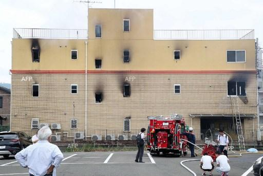 At least one dead and dozens injured in a fire at an animation company in Japan. July 18, 2019