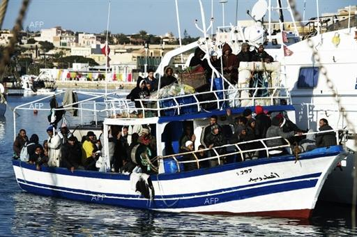 AFP: Algeria stops almost 300 would-be migrants at sea