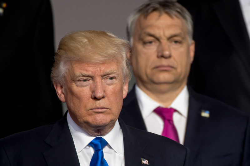 Orban. Trump. May 13, 2019