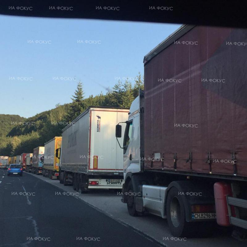 Border Police: Still heavy traffic of trucks on Kapitan Andreevo