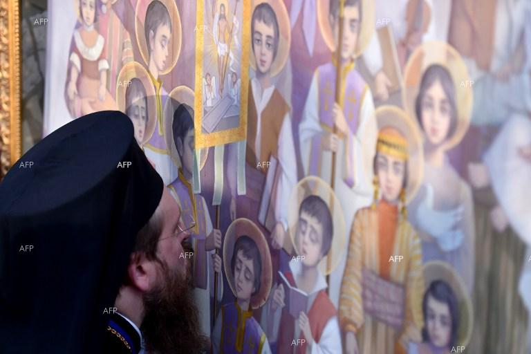 Armenian Church makes saints of 1.5 million genocide victims.