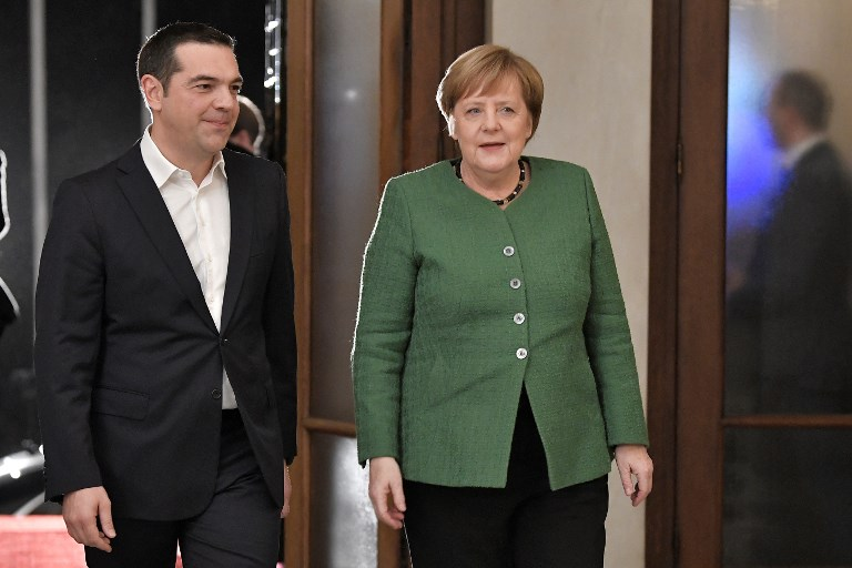 Angela Merkel continues her visit to Greece. January 11, 2019;