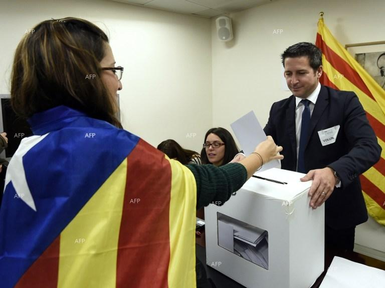 Catalan leaders vow to push forward on referendum