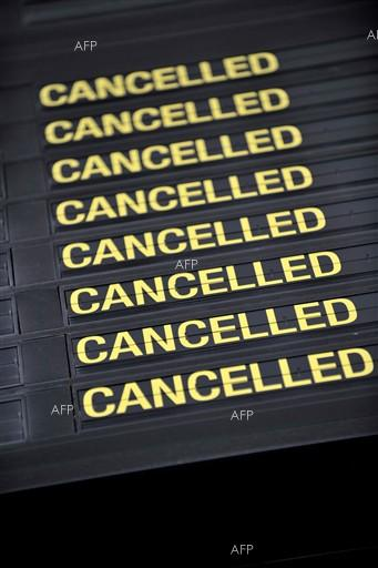 AFP: Scores of flights canceled as storm pummels US Midwest