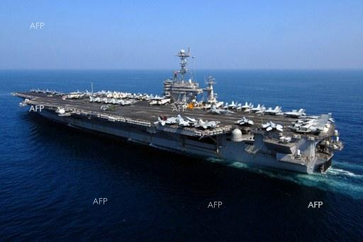 AFP: S. Korea to join three US aircraft carriers in drills