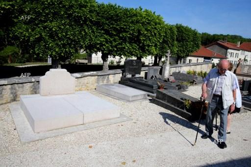 Grave of General de Gaulle in France vandalised. May 28, 2017