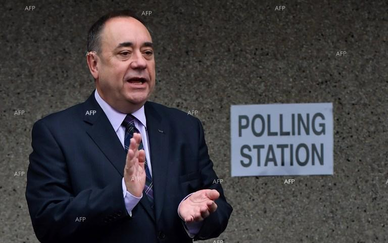 First Minister of Scotland Alex Salmond ready to resign the post