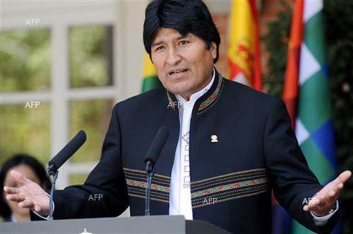 Bolivia's Morales condemns 'coup' by interim president: AFP
