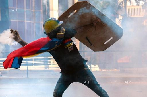 Largest anti-government demonstrations since the start in Aprl took place Saturday in Venezuela. May 21, 2017