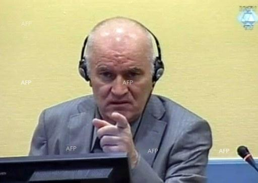 AFP: Agitated Mladic ordered dragged from courtroom