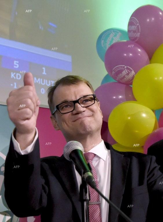 Centre Party, led by self-made millionaire Juha Sipila, won national elections in Finland.