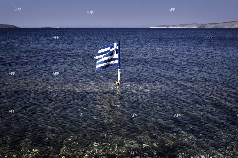 Greek sea.