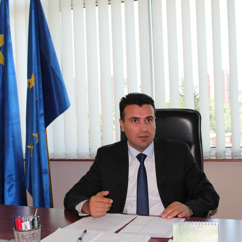 Macedonia's PM Zoran Zaev: Macedonia and Bulgaria are an example of the new reality in the Balkans, we have managed to foster a spirit of friendship and trust
