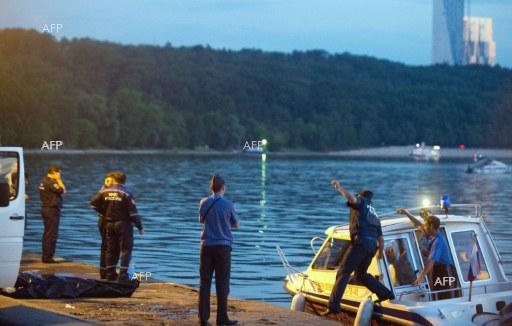AFP: Eight dead as boat capsizes and sinks in Missouri lake