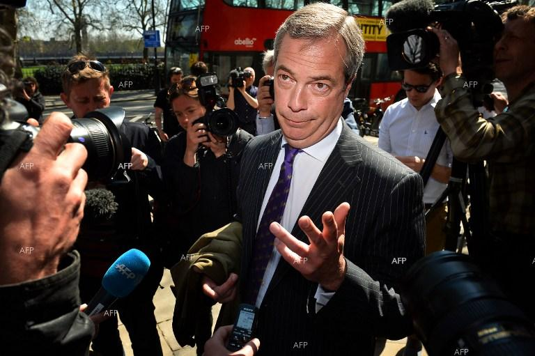 Nigel Farage says EU has 'bloody hands' over Ukraine crisis