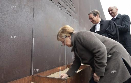 Angela Merkel marks 30 years since the fall of the Berlin Wall. November 9, 2019
