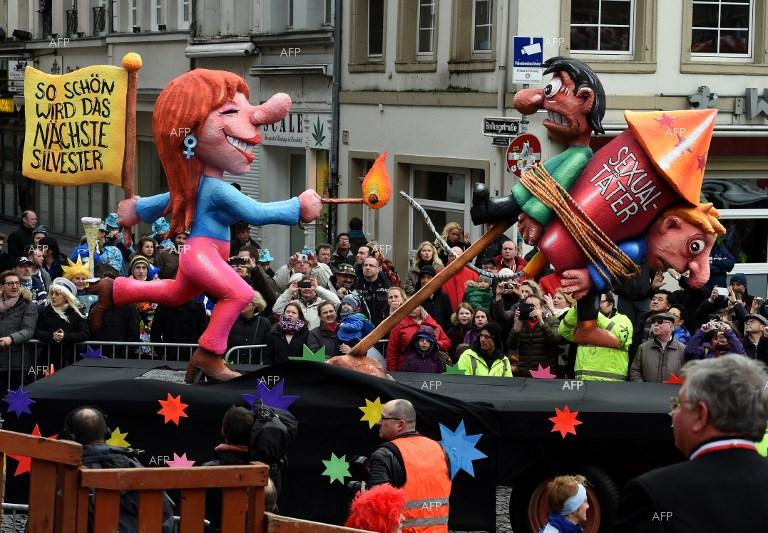 Traditional German carnival cancelled due to bad weather.