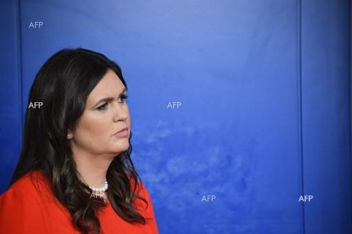 Sarah Sanders appointed as new White House press secretary - July 22, 2017;