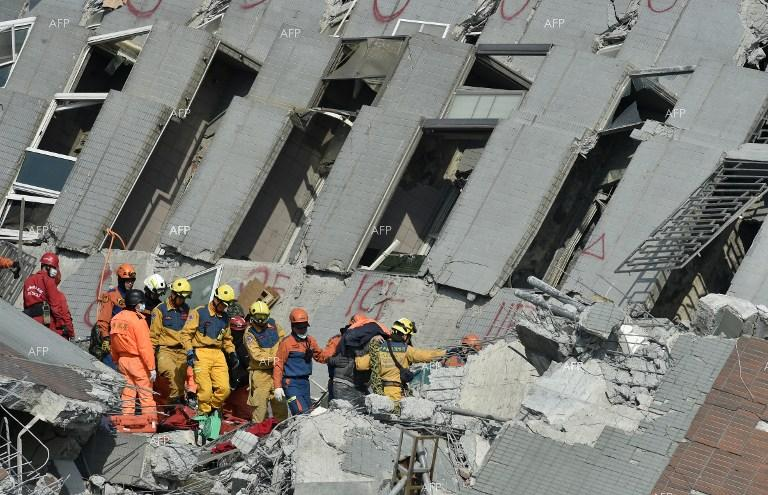 Rescue operations underway after devastating earthquake in Taiwan.
