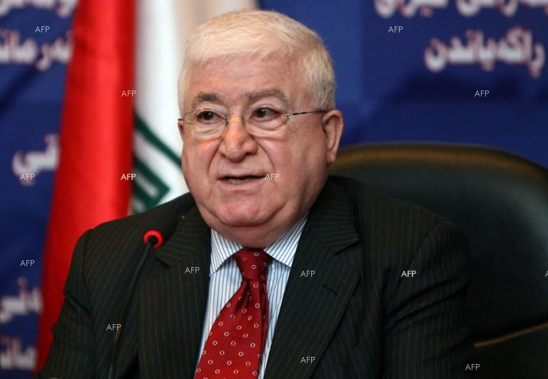 Fouad Massoum was elected Iraqi President.