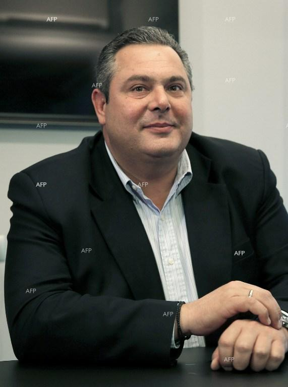 Independent Greeks leader Panos Kammenos.