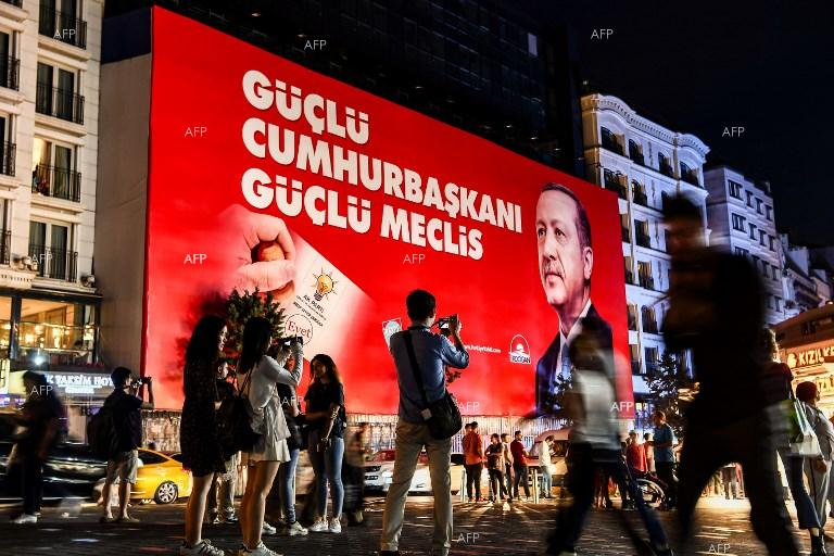 A record number of Turks abroad voted in homeland presidential and parliamentary elections. June 20, 2018;