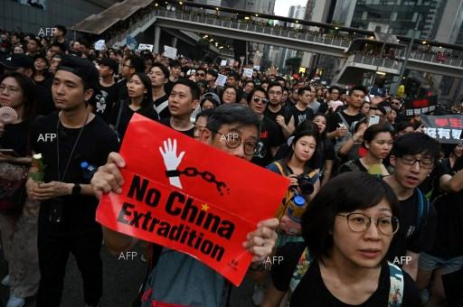 AFP: Flights departing Hong Kong airport after protest chaos
