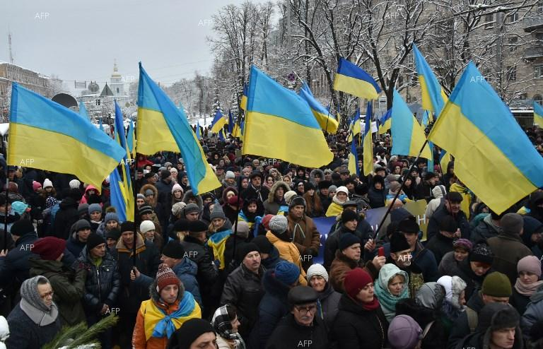 Ukrainians celebrate historic Synod proclaiming the independence of the UOC. December 16, 2018;