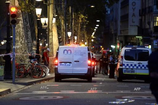 AFP : Driver in Barcelona van attack still on the run