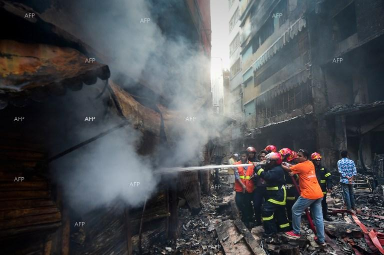 Dozens killed in fire in Bangladesh. February 21, 2019;