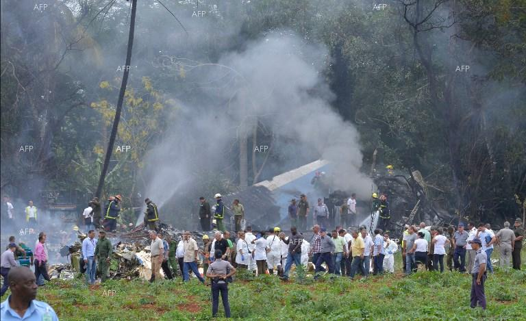 Passenger plane with 104 people on board crashed in Cuba. May 18, 2018;