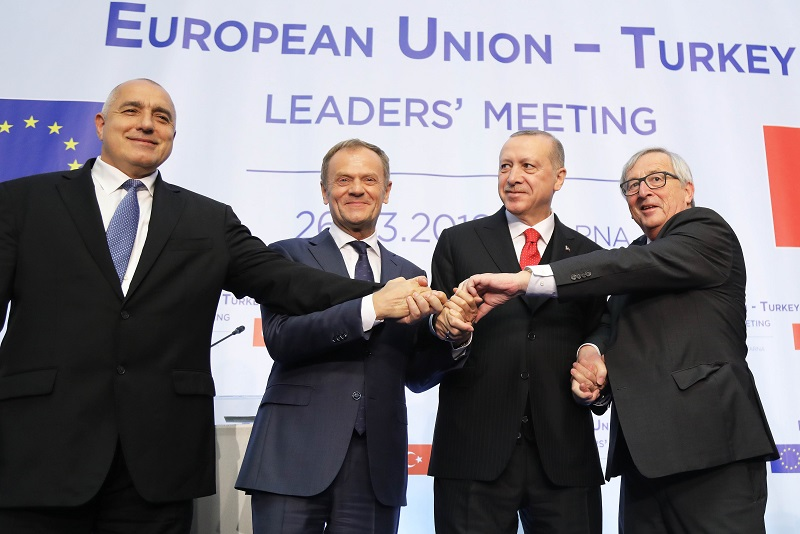 Turkey and European Union fail to reach 'concrete solutions' after talks