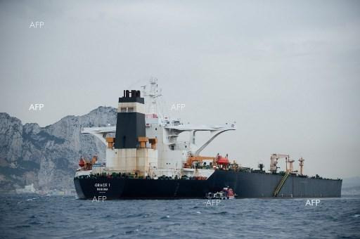 Iranian oil tanker Grace 1 detained in Gibraltar. July 12, 2019
