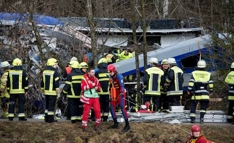 Several dead, more than 100 injured in German trains crash.